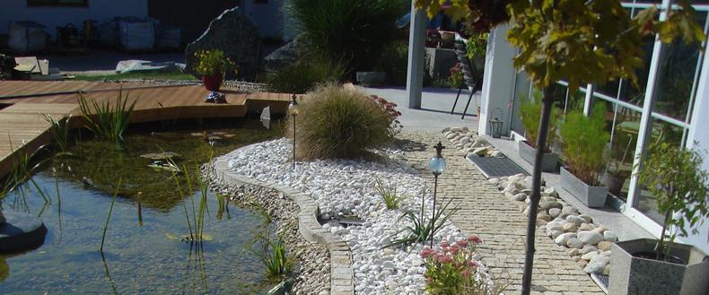 Elegante wege durch ihren garten granitwege von modagard for Gartengestaltung obi