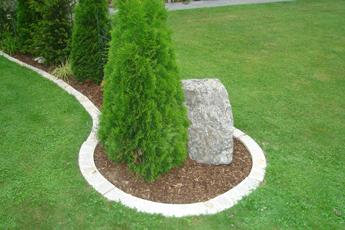 gartengestaltung ohne grenzen mit granit-fertigelementen von, Garten ideen